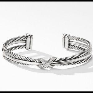 David Yurman X diamond bracelet ♥️